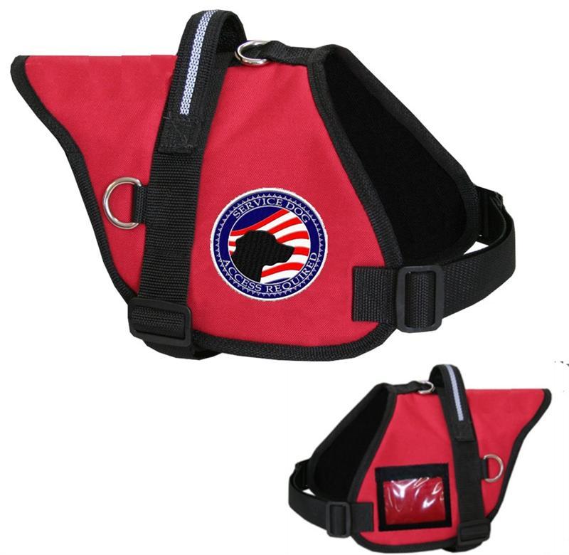 Dog Vest With Handle Padded Service Dog Vest id